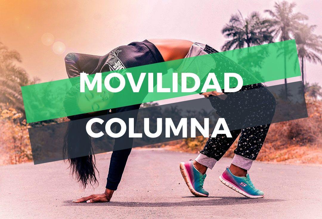 programa de movilidad de columna
